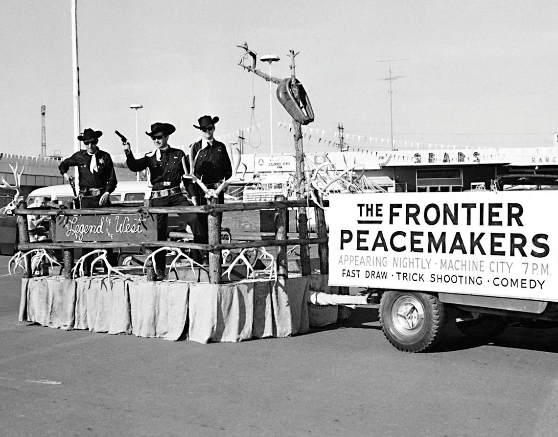 08-13 1967 Buddy Frontier Peacemakers float