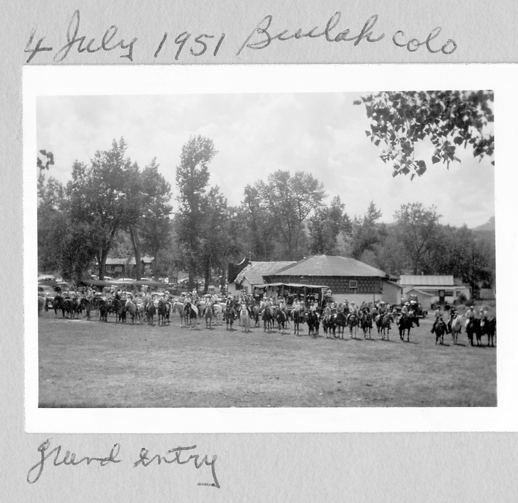 1. Gayway 1951 lots of horses