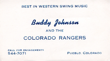1963-80 Band business card
