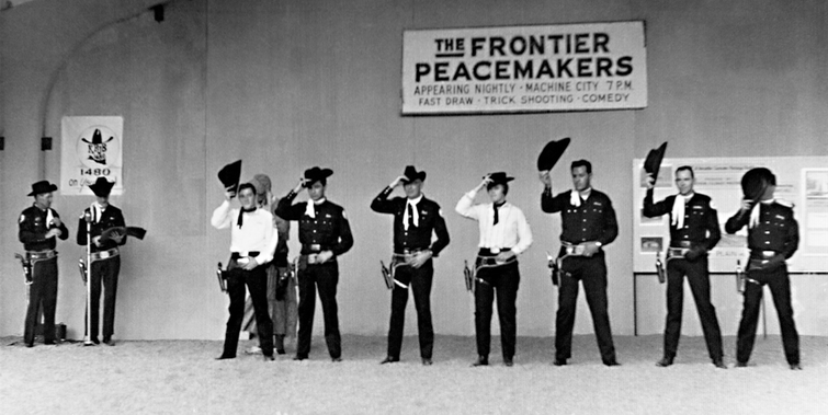 1967 Buddy Frontier Peacemakers show