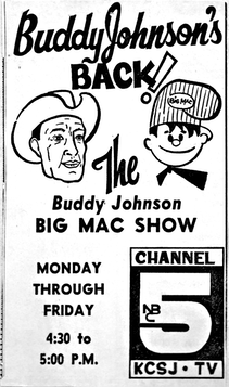 Ad Buddy's Big Mac show