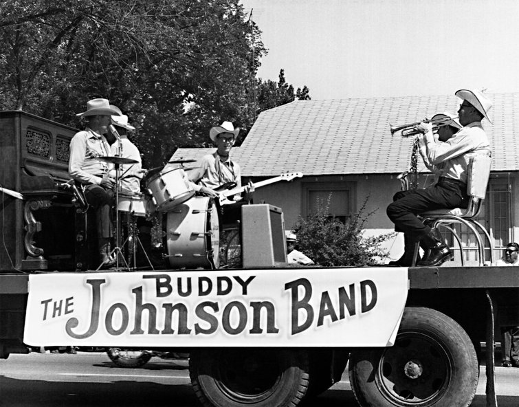Band 1967 Fiesta Day parade