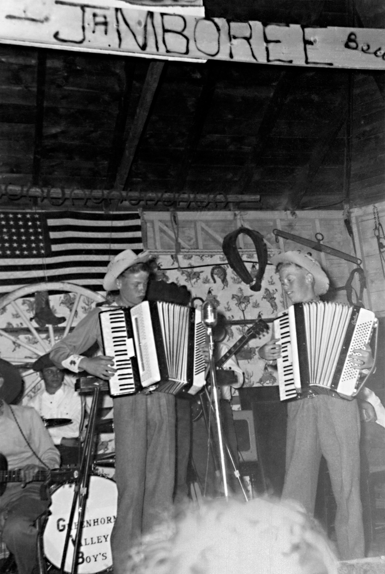 Jamboree 1958 two accordion