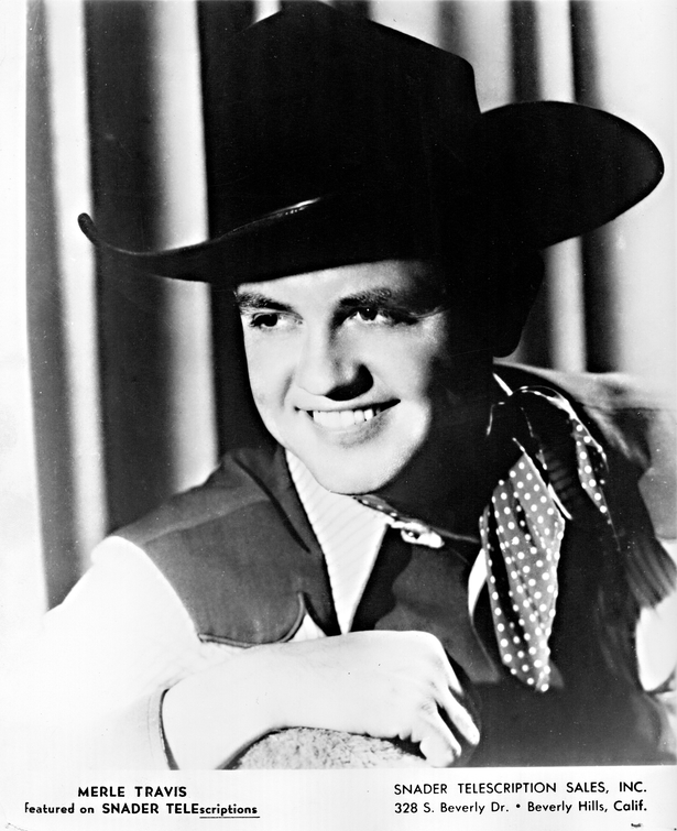 Merle Travis of Capitol Records